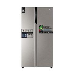 Haier Refrigerator / 17.80 cu/ft. / Side by Side - 2Door / Silver - (HRF650SS)