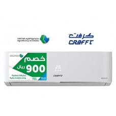 Crafft Split Wall Type AC/Inverter/Cold/24000btu - SEEC - (DS125FE6IN)