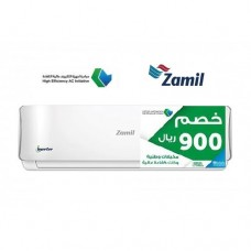 Zamil Split Wall Type AC/Inverter/Hot-Cold/24000btu - SEEC (MIZ26EHIAY3SE)