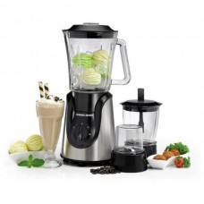 Black & Decker Blender/1.5Ltr/4 Blades/2 Speeds/600W - (BX600GB5)