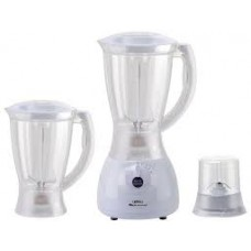 HACTC Blender/2 Jar/1.5Ltr/4 Blades/4 Speeds/350W - (HBR1956)