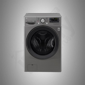 LG Auto Washing Machine/Front Load/14Kg/Silver - (WC1408XM)