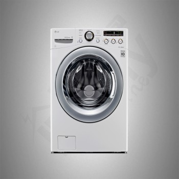 LG Auto Washing Machine/Front Load/15Kg/White - (WS1509WH)