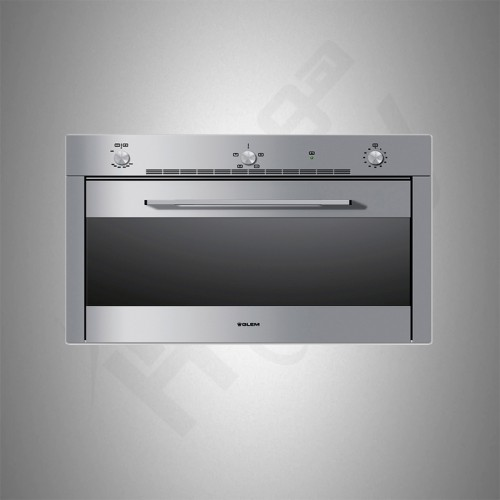 Glemgas Builtin Gas Oven/Electric Grill/90cm - (F995X)