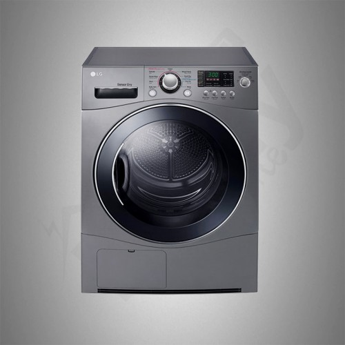 LG Dryer/Front Load/9kg/Silver - (RC9041E2)