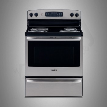 Mabe Electric Cooker/Coil/4 Hotplate/Steel - (EML530NXF)