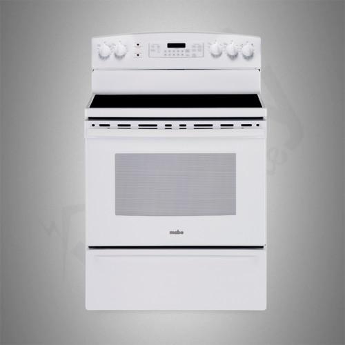 Mabe Electric Cooker/Ceramic/5 Hotplate/White - (EML835BBF)