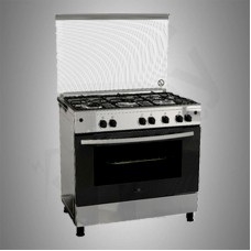White Westinghouse Gas Cooker/5Burner/90X60/FS/Steel - (WNGH90JGUS)