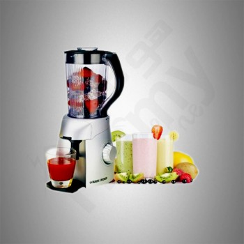 Black & Decker Juice Blender/1.5Ltr/6 Blades/3 Speeds/450W - (BS600B5)