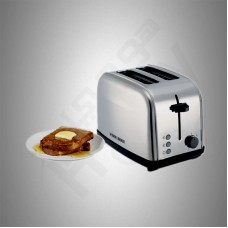 Black & Decker Toaster/Stainless Steel/2 Slots/Browning setting 7/1050W/Steel - (ET222B5)