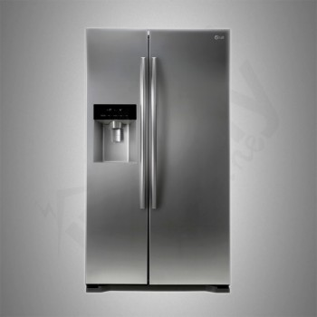 LG Refrigerator+Water Dispenser 18.17 cu/ft Side/Side 2Door Silver - (LS202BLSL)