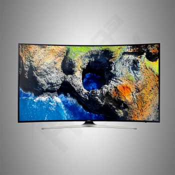 "Samsung 55"" UHD TV/Curve/Smart/HDR/2USB/3HDMI/120Hz - (UA55MU7350RXU)"