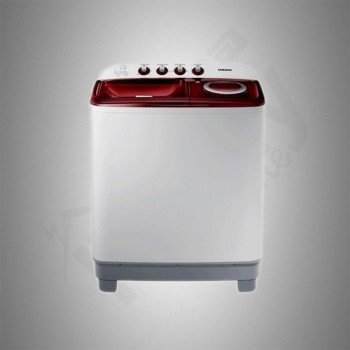Samsung Twintub Washing Machine/12Kg/White - (WT12J4200MR)