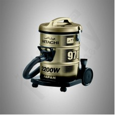 Hitachi Vacuum Cleaner/Drum/21Ltr/2200W/Gold - (CV970Y)