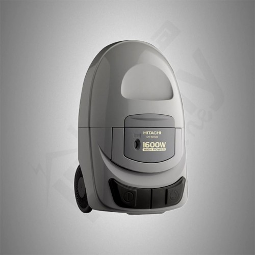Hitachi Vacuum Cleaner/Canister/Bagless5Ltr/1600W/Grey - (CVW1600SS)