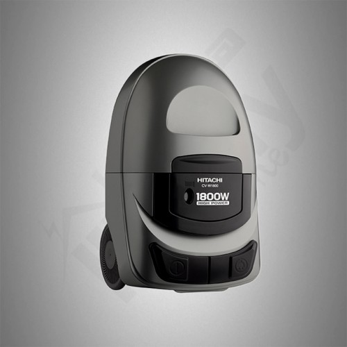 Hitachi Vacuum Cleaner/Canister/Bagless/5Ltr/1800W/Silver - (CVW1800SS)