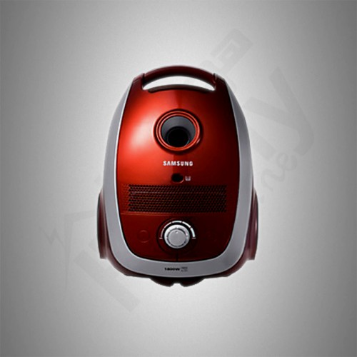 Samsung Vacuum Cleaner/Canister/2.4Ltr/1800W/Red - (SC545)