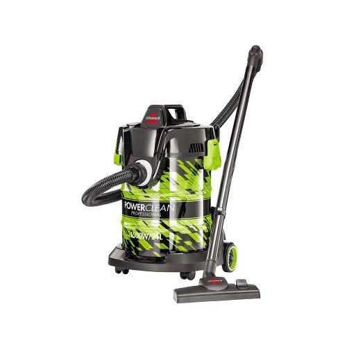 Bissell Vacuum Cleaner/Drum/Wet-Dry/21Ltr/1500W/Green - (2026E)