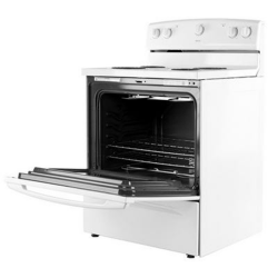 Maytag Electric Cooker/Coil/4 Hotplate/White - (4KMER7600AW)