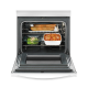 Whirlpool Electric Cooker/Coil/4 Hotplate/White - (4KWFC120MAW)