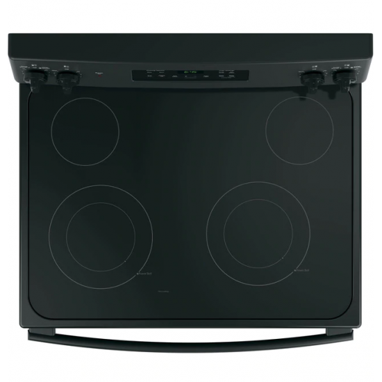 G.E. Electric Cooker/Ceramic/4 Hotplate/Black - (JCB735DIB)