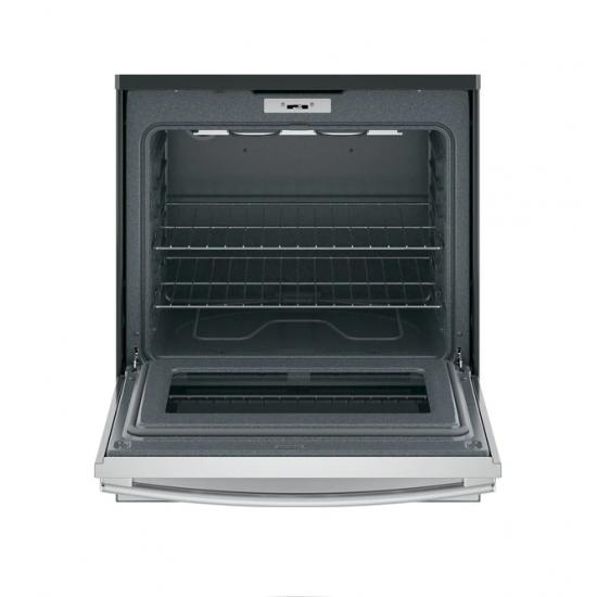 G.E. Electric Cooker/Ceramic/4 Hotplate/Steel - (JCB735SISS)