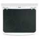 Mabe Electric Cooker/Ceramic/4 Hotplate/White - (EML735BBF)