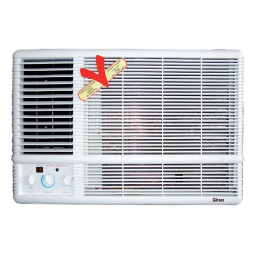 Gibson Window AC/Cold/24300btu/Freon 410/3 Stars - (AE24E6H5JN)