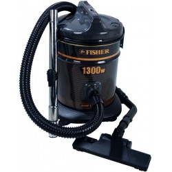 Fisher Vacuum Cleaner/Drum/12Ltr/1300W/Black - (BSC-1300F)