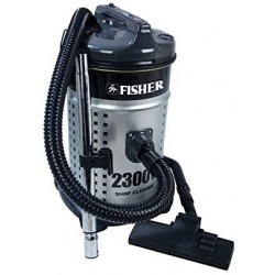 Fisher Vacuum Cleaner/Drum/20Ltr/2300W/Grey - (BSC-2300F)