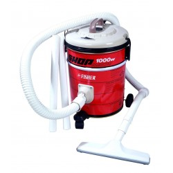 Fisher Vacuum Cleaner/Drum/10Ltr/1000W/Red - (BSC-500F)