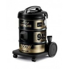 Hitachi Vacuum Cleaner/Drum/18Ltr/1800W/Black - (CV945Y)