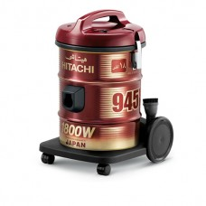 Hitachi Vacuum Cleaner/Drum/18Ltr/1800W/Red - (CV945Y)