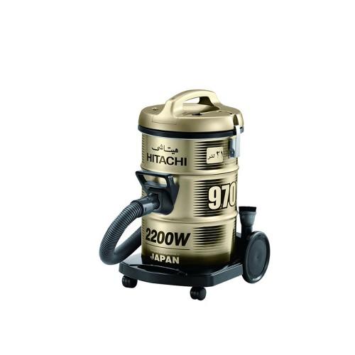 Hitachi Vacuum Cleaner/Drum/21Ltr/2200W/Gold - (CV970Y)