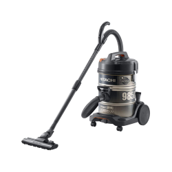 Hitachi Vacuum Cleaner/Drum/23Ltr/2200W/Black - (CV-985DC)