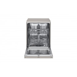 LG Dish Washer / Inverter / NFC /1 4 Places / 9 Programs / Silver - (DFB512FP)