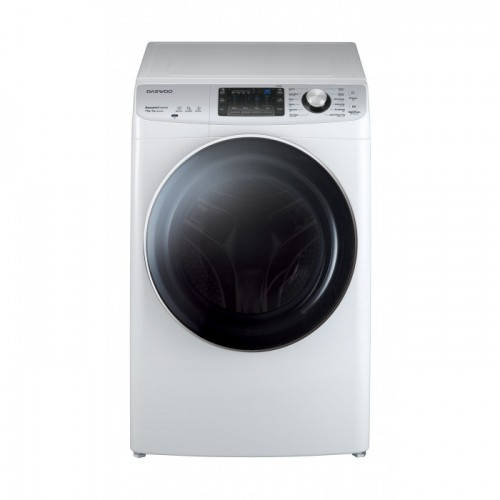 Daewoo Auto Washing Machine/Front load/11kg-7Kg/White - (DW-CSD1232)