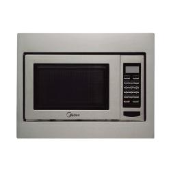 Midea Built In Microwave / Grill / 30Ltr / 1100W / Steel - (EG930BSA)