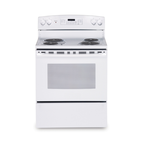 Mabe Electric Cooker/Coil/4 Hotplate/White - (EML535BBF)