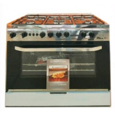 Falcon Gas Cooker/5Burner/90X60/Full Safety/Steel - (F9988)