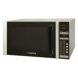 Fisher Microwave Oven / Grill / 30Ltr / 900W / Silver - (FEMG7530V)