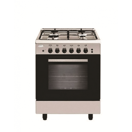Falcon Gas Cooker/5Burner/55X55/Full Safety/Steel - (FGC5555SF)