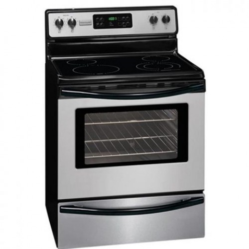 Frigidaire Electric Cooker/Ceramic/4 Hotplate/steel - (FMFF3026RS)