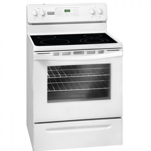 Frigidaire Electric Cooker/Ceramic/4 Hotplate/White - (FMFF3026RW)