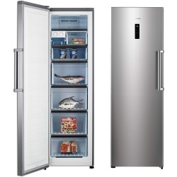 Hisense Upright Freezer 9 cu/ft 1Door Silver - (FS49DCSS)