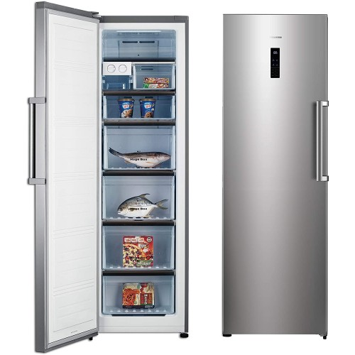 Hisense Upright Freezer 9 cu/ft 1Door Silver - (FS49DCSS)