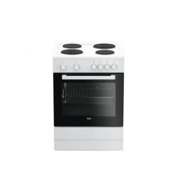Beko  Electric Cooker/4Hot Plates/60X60/White - (FSS66000GW)
