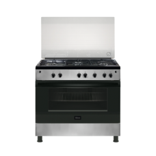 Gibson Gas Cooker/5Burner/90X60/Full Safety/Steel - (GNGJ90JGWC)
