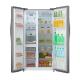 Midea Refrigerator / 18 cu/ft. / Side by Side 2Door / Steel  - (HC689WEINS)