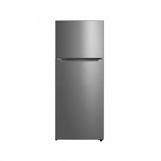 Midea Refrigerator 16.5 cu/ft 2Door Black Steel - (HD606FSEN)